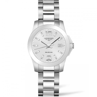 Montre Longines Femme Conquest 34 mm - L3.377.4.76.6