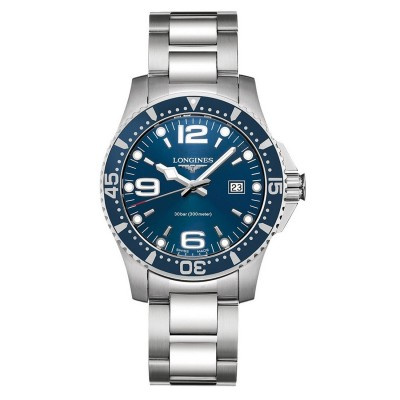 Montre Longines HydroConquest quartz 41 mm - L3.740.4.96.6