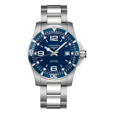 Montre Longines HydroConquest automatique 41 mm - L3.742.4.96.6