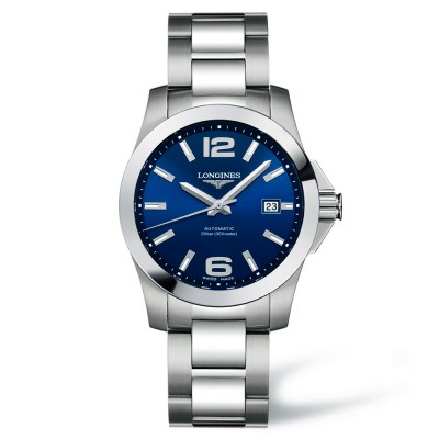 Montre Longines Homme Conquest 39 mm - L3.676.4.99.6