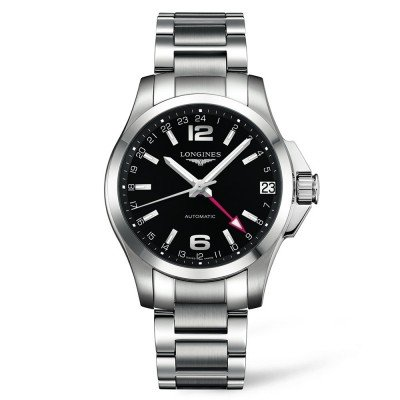 Montre Longines Homme Conquest 41 mm - L3.687.4.56.6