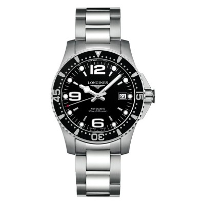 Montre Longines HydroConquest automatique 39 mm - L3.741.4.56.6