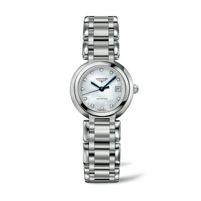 Montre Longines Femme Primaluna 26,5 mm serti diamants - L8.111.4.87.6