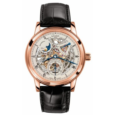 Montre Glashütte Original Senator Moon Phase Skeletonized Edition 49-13-15-15-04