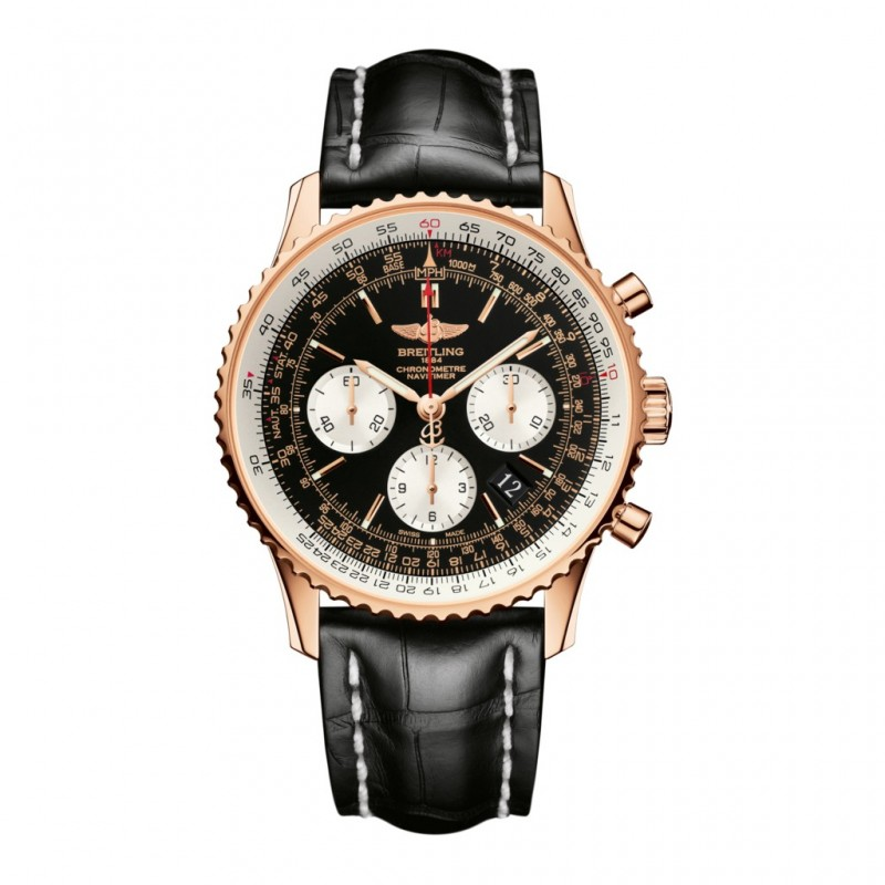 Montre Breitling Navitimer 01 Chronograph Or Rouge - RB012012