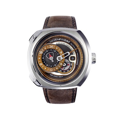 Montre Sevenfriday Q2/01 Bracelet Cuir - Q2/01