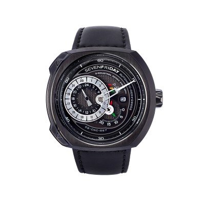 Montre Sevenfriday Q3/01 Bracelet Cuir - Q3/01