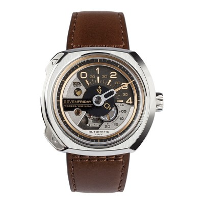 Montre Sevenfriday V2/01 Bracelet Cuir - V2/01