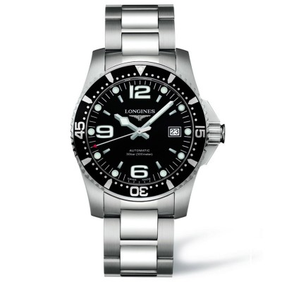 Montre Longines HydroConquest automatique 41mm - L3.742.4.56.6