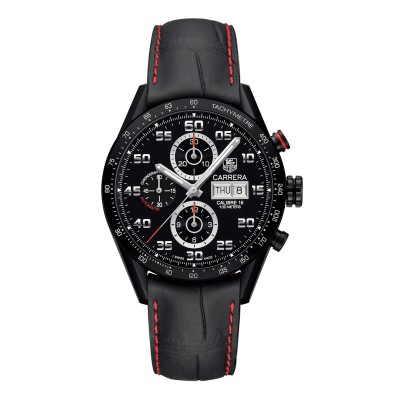 Montre Tag Heuer Carrera Calibre 16 Day-Date Chronographe  - CV2A81.FC6237