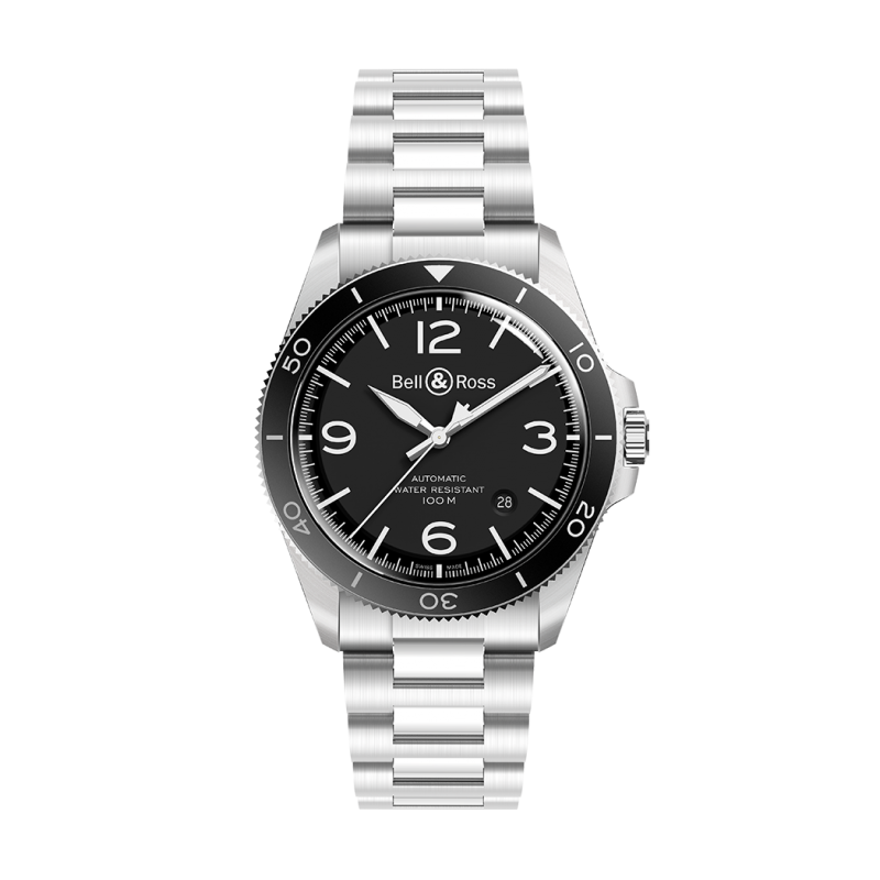 Montre Bell & Ross BR V2-92 BLACK STEEL