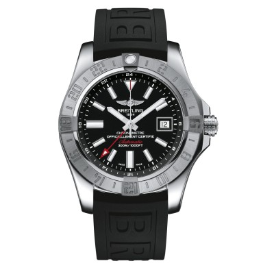 Montre Breitling Avenger II GMT Black Automatic