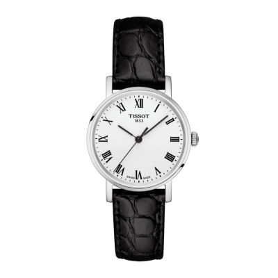 Montre Tissot Everytime Small Cuir Noir 30mm