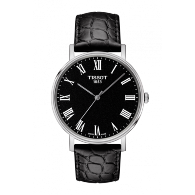 Montre Tissot Everytime Medium Cadran Noir 38mm