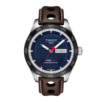 Montre Tissot PRS 516 Powermatic 80 Cadran Bleu 42mm