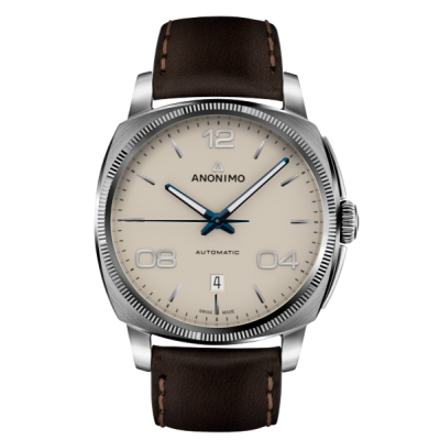 Montre Anonimo Automatique Epurato Beige 42 mm