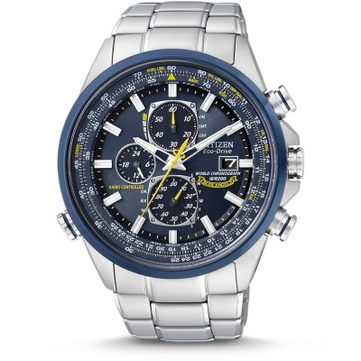 Eco-Drive Blue Angels Chronographe Atomique