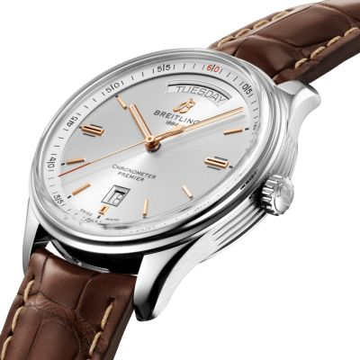 Montre Breitling Homme PREMIER AUTOMATIC DAY & DATE 40 - A45340211G1P1