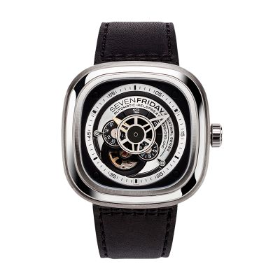 Montre SevenFriday P1B/01 Silver Industrial Essence
