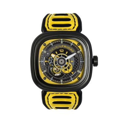 Montre SevenFriday P3B / 03 RACING TEAM JAUNE