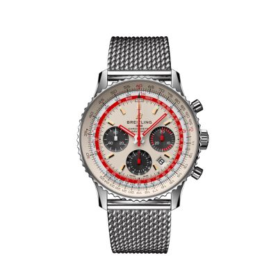 Montre Breitling  Navitimer 1 B01 Chronograph 43 Airline Edition - Twa   - AB01219A1G1A1