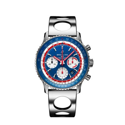 Montre Breitling  Navitimer 1 B01 Chronograph 43 Airline Edition - Pan Am  - AB01212B1C1A2