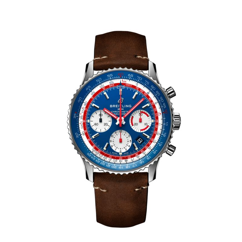 Montre Breitling  Navitimer 1 B01 Chronograph 43 Airline Edition - Pan Am  - AB01212B1C1X1