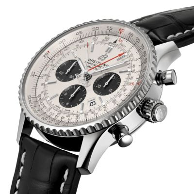 Montre Breitling  Navitimer 1 B03 Chronograph Rattrapante 45  - AB0310211G1P2