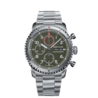 Montre Breitling  Aviator 8 Chronograph 43 Curtiss Warhawk  - A133161A1L1A1