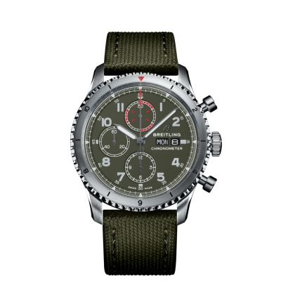 Montre Breitling  Aviator 8 Chronograph 43 Curtiss Warhawk  - A133161A1L1X2