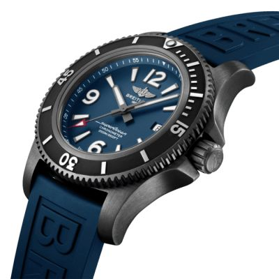Montre Breitling  Superocean Automatic 46 Blacksteel  - M17368D71C1S1