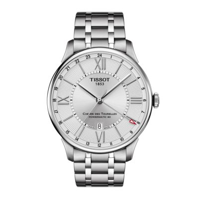 Montre TISSOT CHEMIN DES TOURELLES POWERMATIC 80 GMT