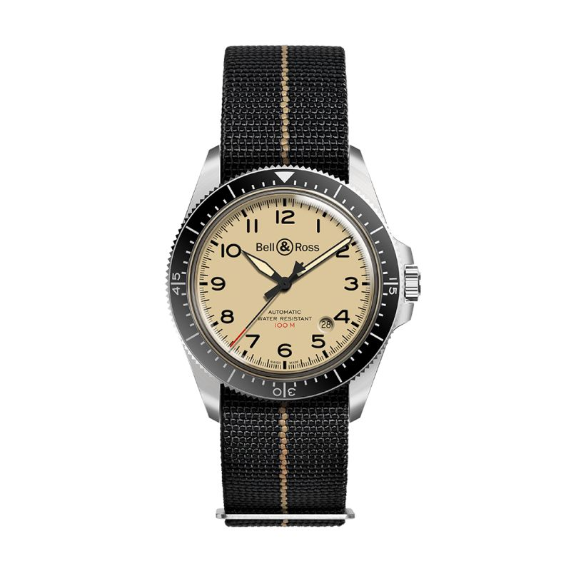 Montre Bell & Ross BR V2-92 MILITARY BEIGE