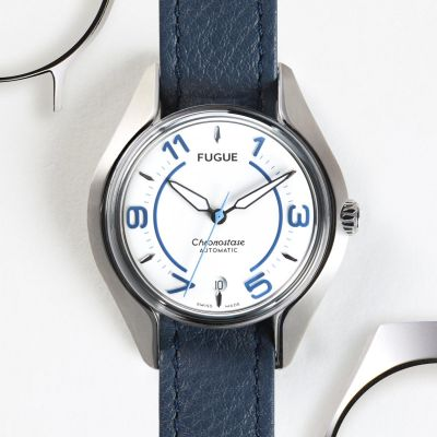 Montre Fugue Trilogie Chronostase Ocean White