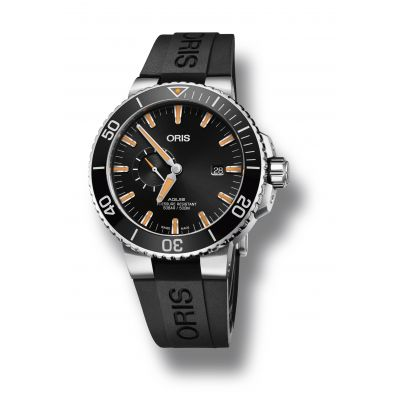 Montre Oris Aquis Small Second Date - 01 743 7733 4159-07 4 24 64EB