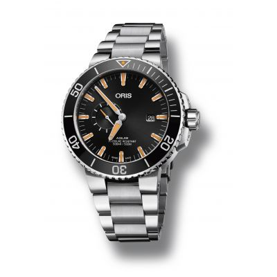Montre Oris Aquis Small Second Date - 01 743 7733 4159-07 8 24 05PEB