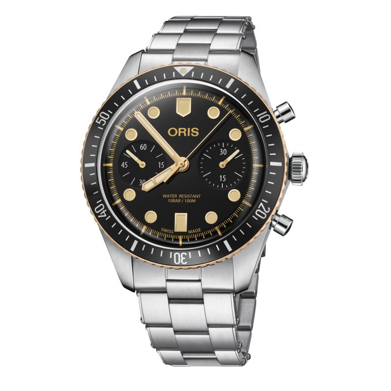 Montre Oris Divers Sixty-Five Chronograph - 01 771 7744 4354-07 8 21 18