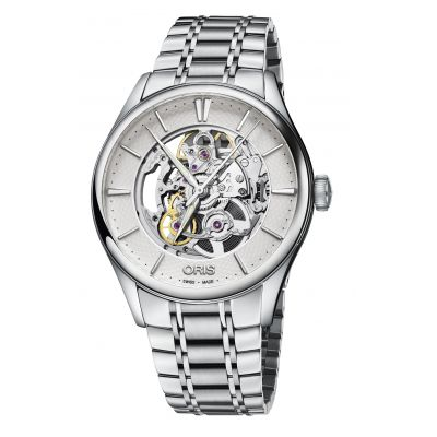 Montre Oris Artelier Skeleton - 01 734 7721 4051-07 8 21 88