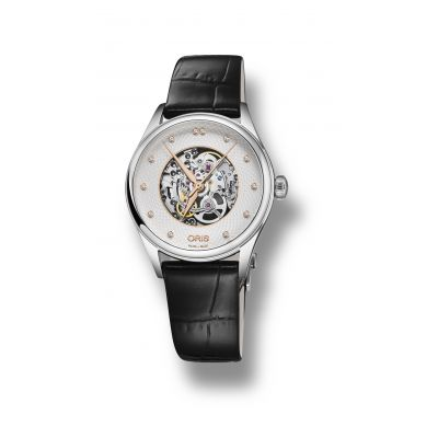 Montre Oris Artelier Skeleton Diamonds - 01 560 7724 4031-07 5 17 64FC