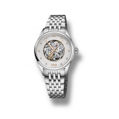 Montre Oris Artelier Skeleton Diamonds - 01 560 7724 4031-07 8 17 79