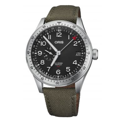 Montre Oris Big Crown Propilot Timer GMT - 01 748 7756 4064-07 3 22 02LC