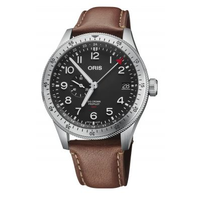Montre Oris Big Crown Propilot Timer GMT - 01 748 7756 4064-07 5 22 07LC