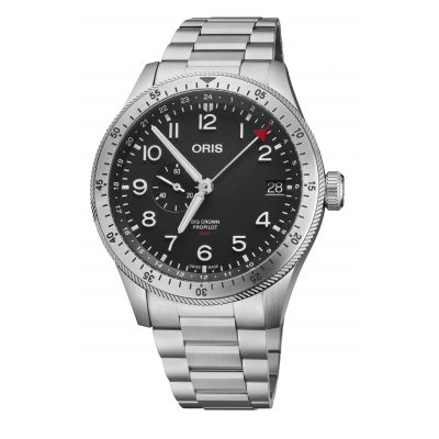 Montre Oris Big Crown Propilot Timer GMT - 01 748 7756 4064-07 8 22 08