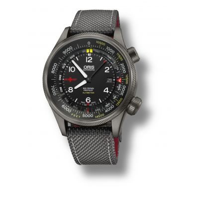 Montre Oris Altimeter Rega Limited Edition - 01 733 7705 4234-Set5 23 16GFC
