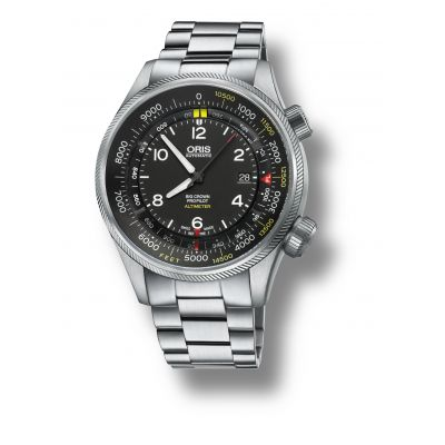 Montre Oris Big Crown Propilot Altimeter Graduation en Pieds - 01 733 7705 4134-Set 8 23 19