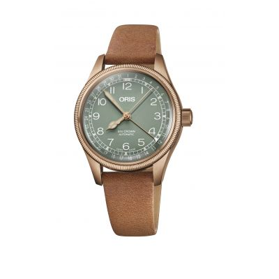 Montre Oris Big Crown Bronze Pointer Date - 01 754 7749 3167-07 5 17 66BR
