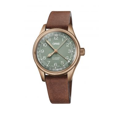 Montre Oris Big Crown Bronze Pointer Date - 01 754 7749 3167-07 5 17 69GBR