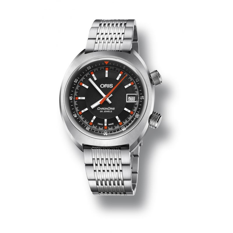 Montre Oris Chronoris Date - 01 733 7737 4054-07 8 19 01