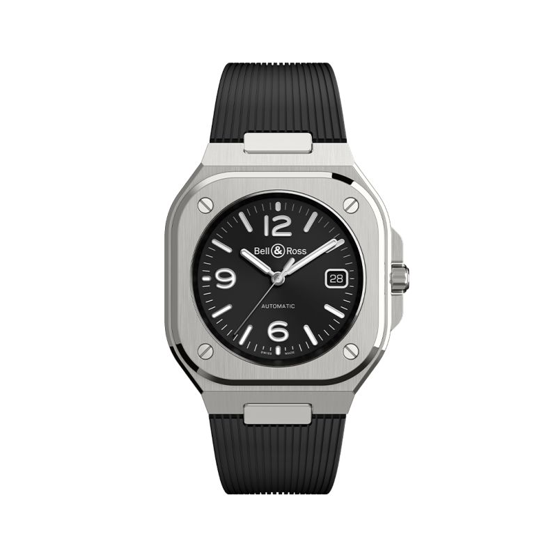 Montre Bell & Ross BR 05 BLACK STEEL