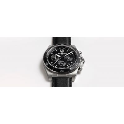 Montre Bell & Ross BR V3-94 BLACK STEEL